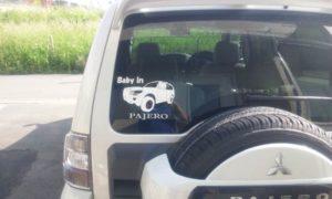 岩手県にお住まいのH様より車用カッティングシートのご注文をいただきました。